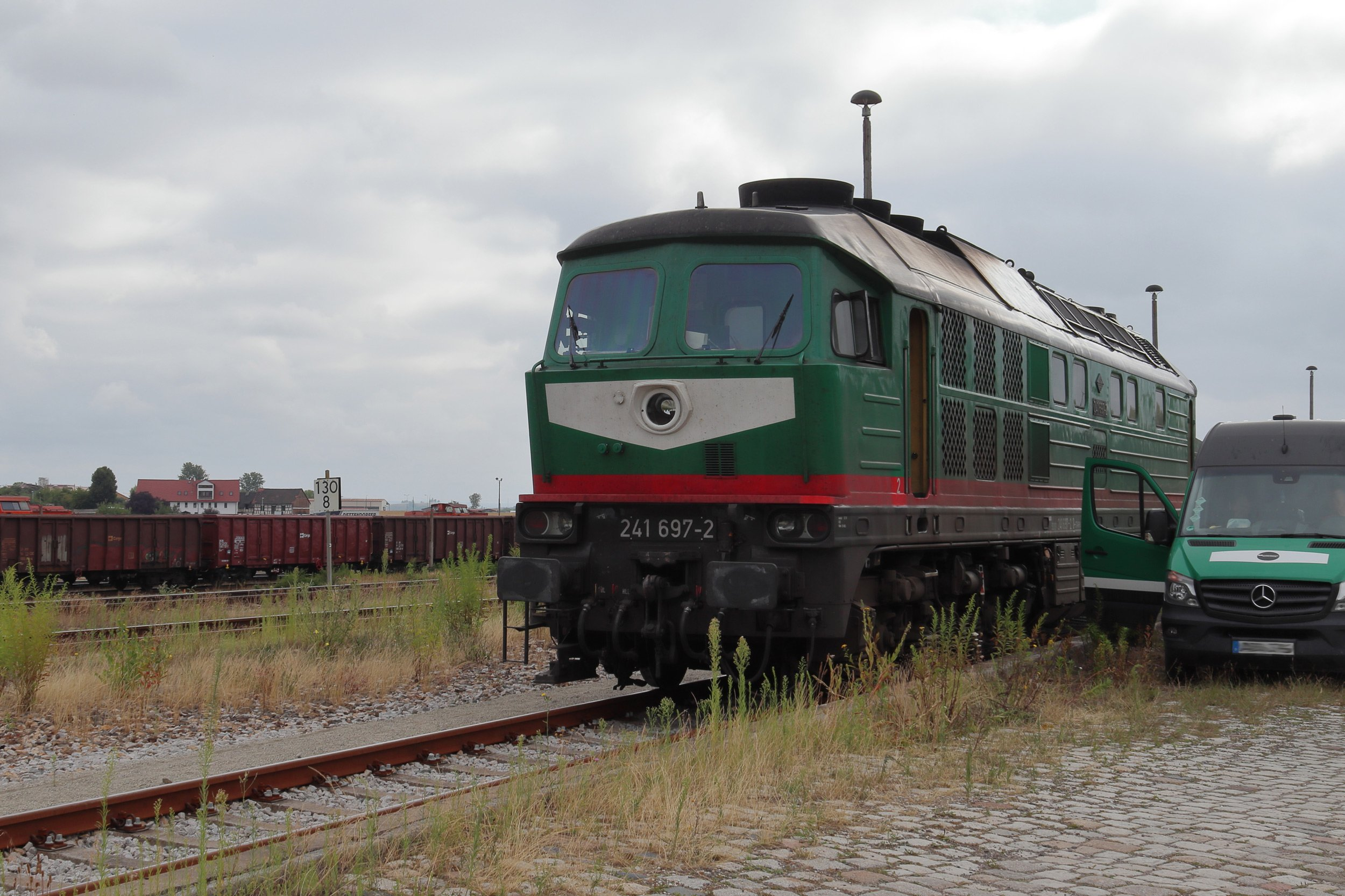 Starkenberger 241 697 in Könitz am 17.7.19